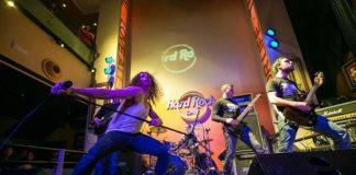 Show do DarkWater em um Hard Rock Live
