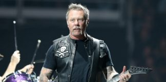 James Hetfield, do Metallica, em 2019