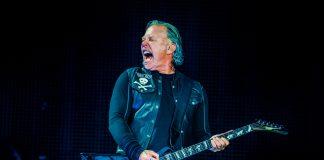 James Hetfield, do Metallica, em 2019