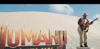 Júnior Groovador em vídeo de Jumanji