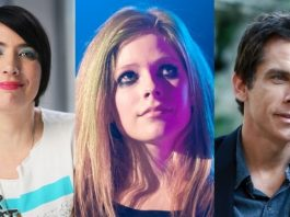Kathleen Hanna, Avril Lavigne e Ben Stiller