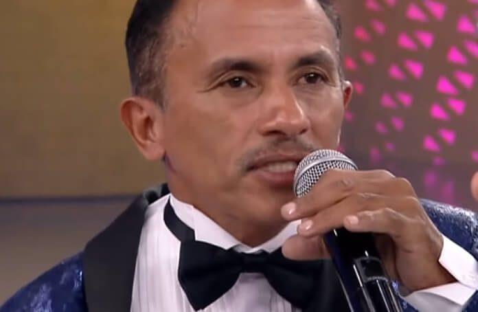 Manoel Gomes (Caneta Azul) no Programa do Faro, na Record