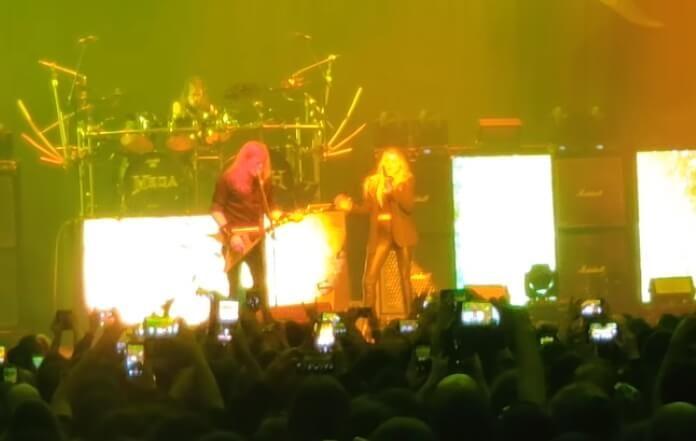 Megadeth em Paris com Electra Mustaine