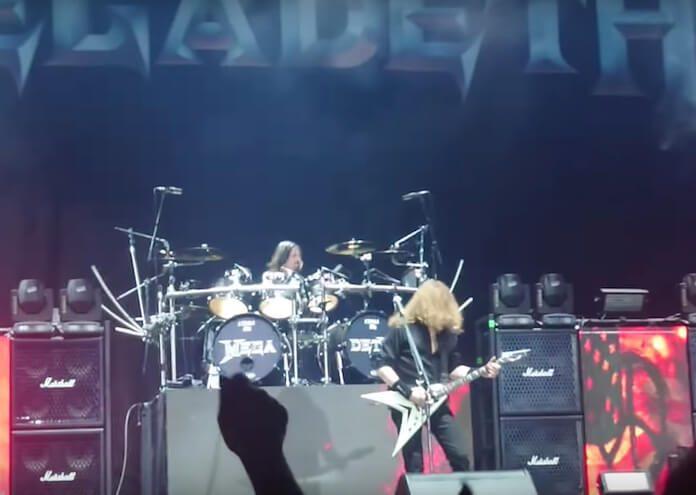 Show de retorno do Megadeth com Dave Mustaine