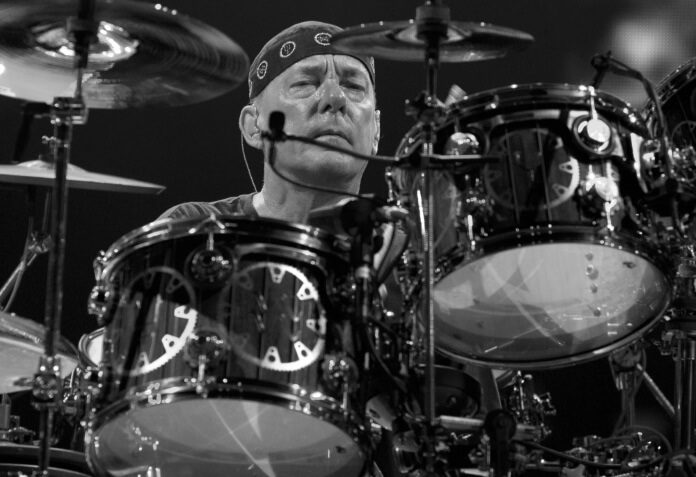 Neil Peart, baterista do Rush