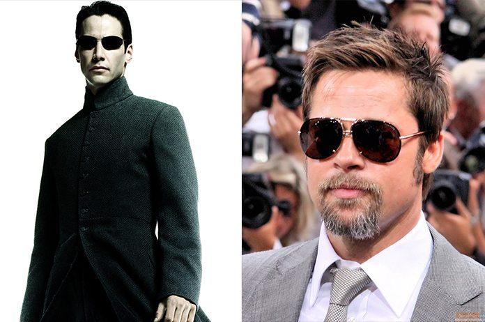 Neo e Brad Pitt