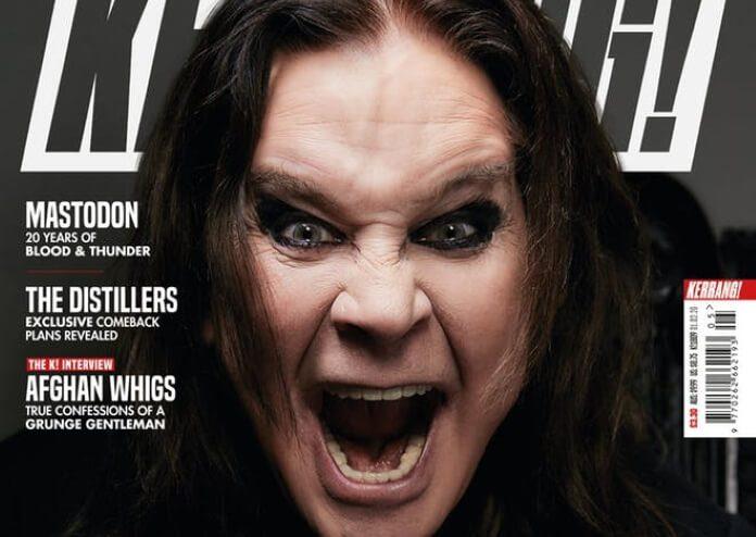 Ozzy Osbourne na capa da revista Kerrang!