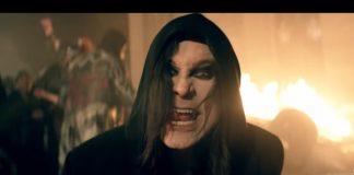 Ozzy Osbourne no clipe de Straight To Hell