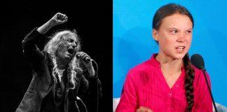 Patti Smith e Greta Thunberg