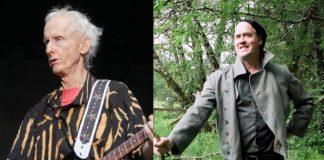 Robby Krieger em 2017 e Krist Novoselic