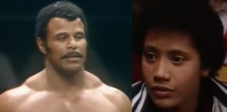 Rocky Johnson e The Rock