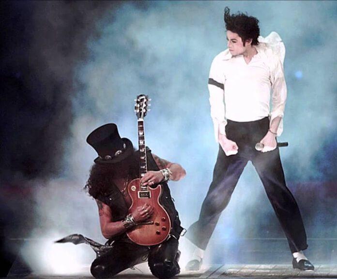 Slash e Michael Jackson
