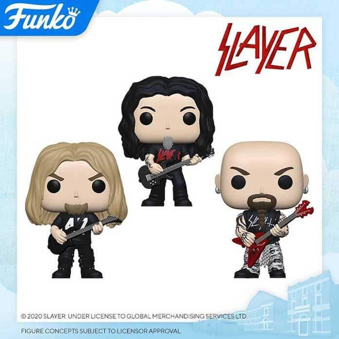 Bonecos Funko do Slayer