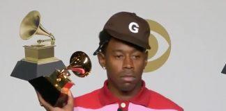Tyler, the Creator com Grammy