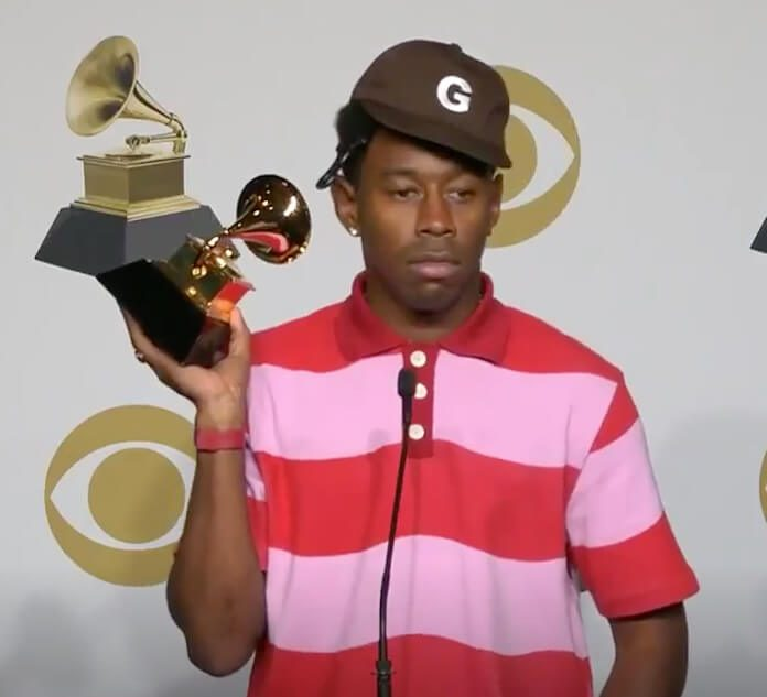 Tyler, the Creator com Grammy