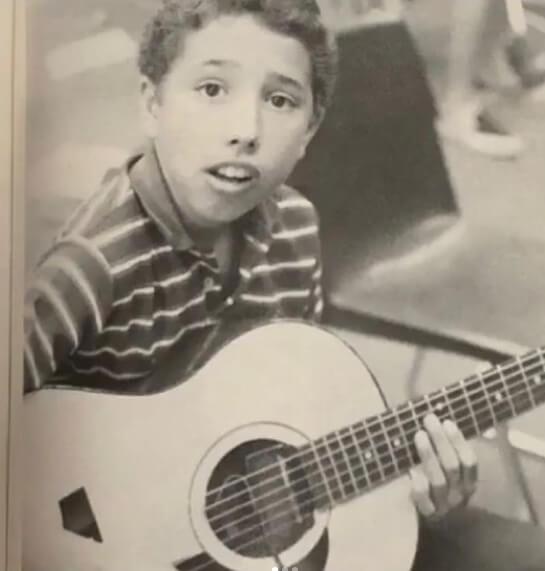 Zack De La Rocha quando criança