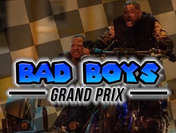 Bad Boys Will Smith Mario Kart