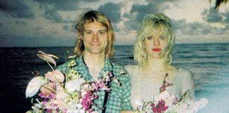 Courtney Love Kurt Cobain Casamento