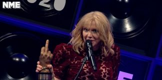 Courtney Love NME Awards