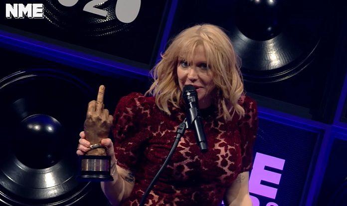 Courtney Love NME Awards
