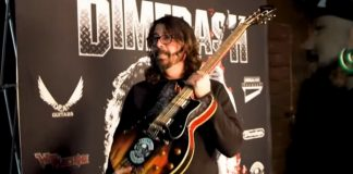 Dave Grohl Guitarra Churrasco