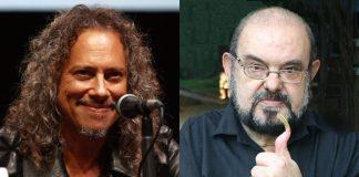 Kirk Hammett e Zé do Caixão