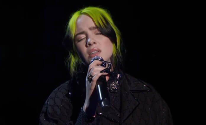 Billie Eilish canta Yesterday no Oscar