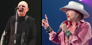 Billy Corgan e Axl Rose