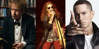 Bob Dylan, Steven Tyler e Eminem