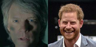 Bon Jovi e o Príncipe Harry