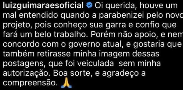 Comentário de Luis Fernando Guimarães