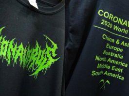 Camiseta do Coronavírus