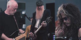 David Gilmour, Billy Gibbons e Steven Tyler