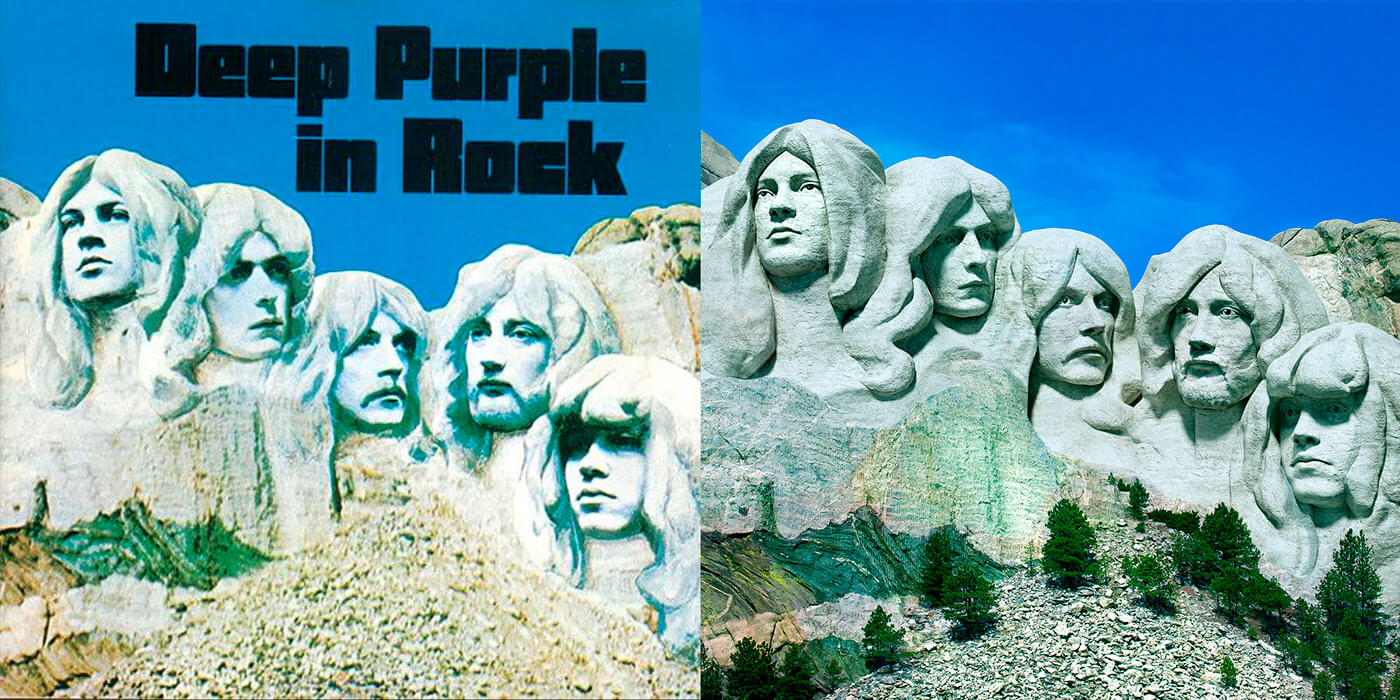 Deep Purple - Deep Purple in Rock (Rock ReCover)
