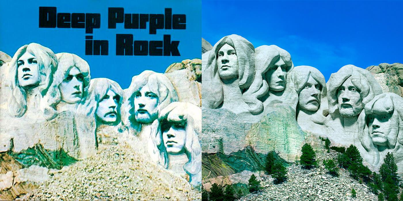 Deep Purple - Deep Purple in Rock (Rock ReCover)