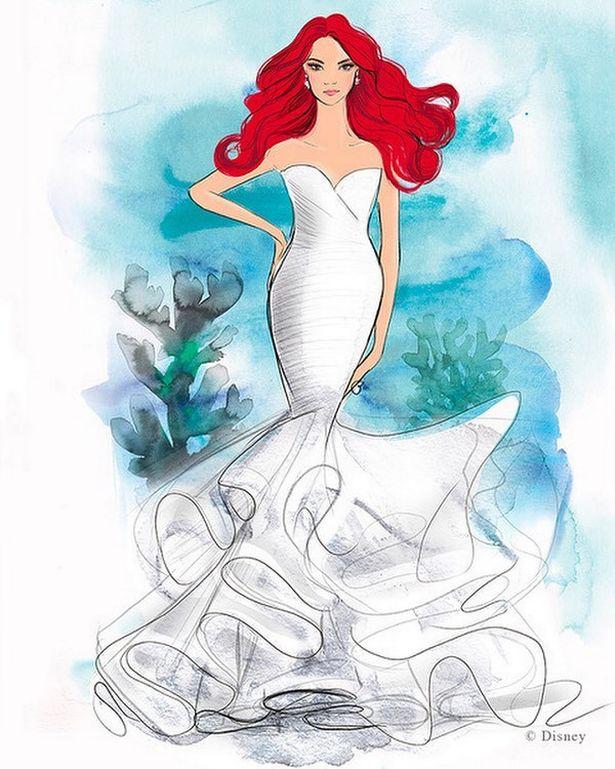 Vestido de noiva da Disney