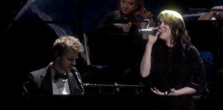 Finneas e Billie Eilish no BRIT Awards 2020