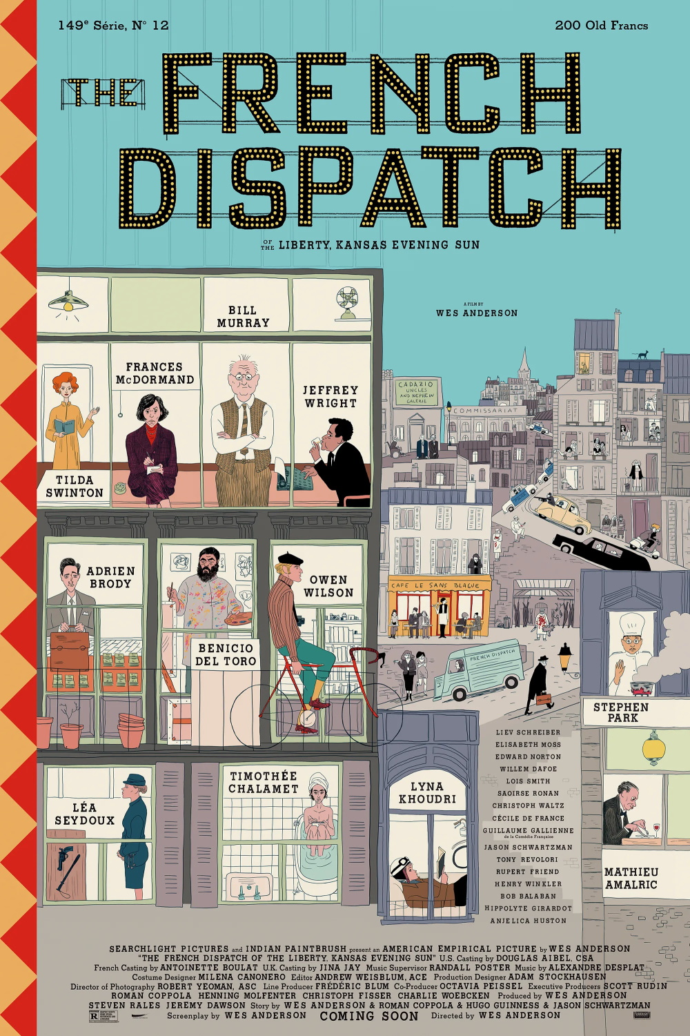 Pôster de The French Dispatch