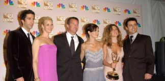 Elenco de Friends no Emmy, 2002