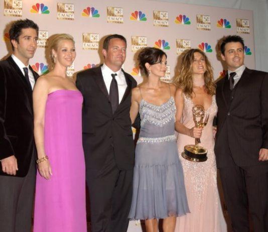 Elenco de Friends no Emmy, 2002