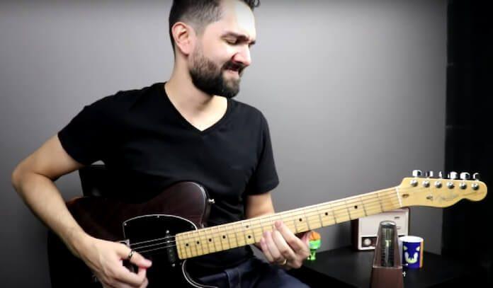 Guitarrista toca História do Rock Brasileiro em 100 Riffs