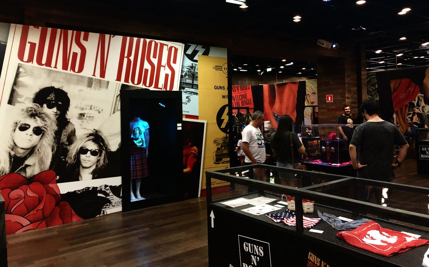 Guns N Roses Experience - Exposição em São Paulo