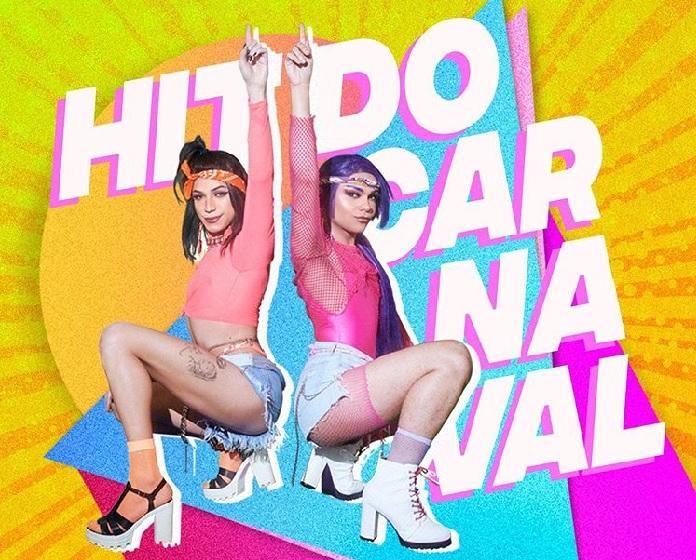 """Capa de """"Hit do Carnaval"""" (CyberKills, Kaya Conky e Potyguara Bardo)"""
