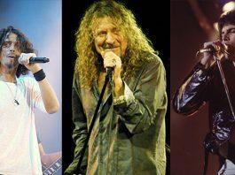 Chris Cornell, Robert Plant e Freddie Mercury