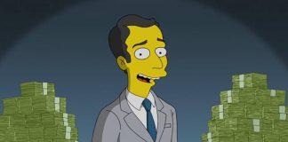 "Jim Parsons em ""Os Simpsons"""