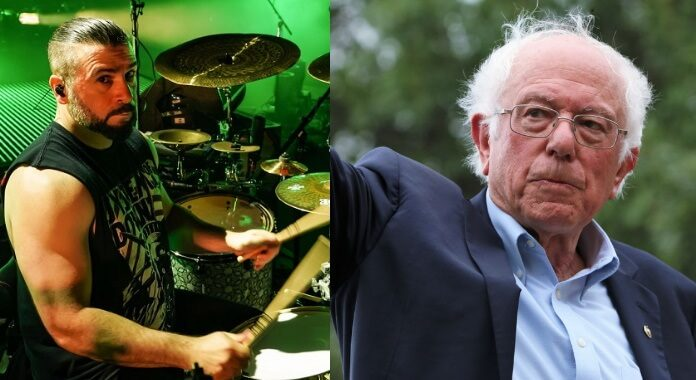 John Dolmayan e Bernie Sanders