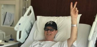 Klaus Meine, do Scorpions, em Hospital