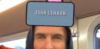 Liam Gallagher tira John Lennon em teste no Instagram