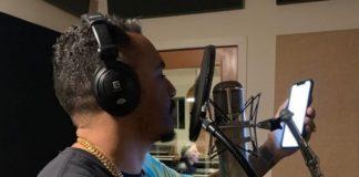 Marcelo D2 gravando disco do Planet Hemp