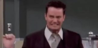 Matthew Perry postou vídeo de Chandler em Friends
